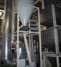 Ciclones de acero galvanizado. Agromay