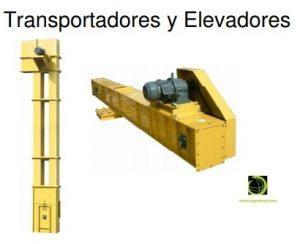Elevadores y transportadores. Agromay