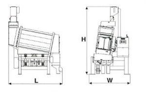 Mesa paddy PS200D-T. Máquinas para arroz. Agromay